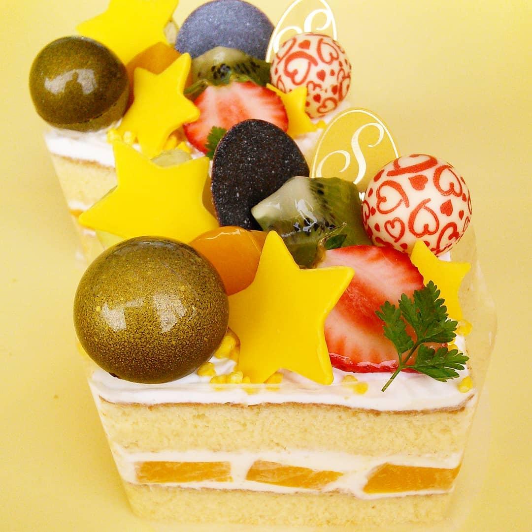 七夕限定のケーキ